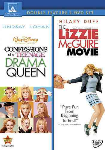 CONFESSIONS OF A TEENAGE DRAMA QUEEN/ BY LOHAN,LINDSAY (DVD)